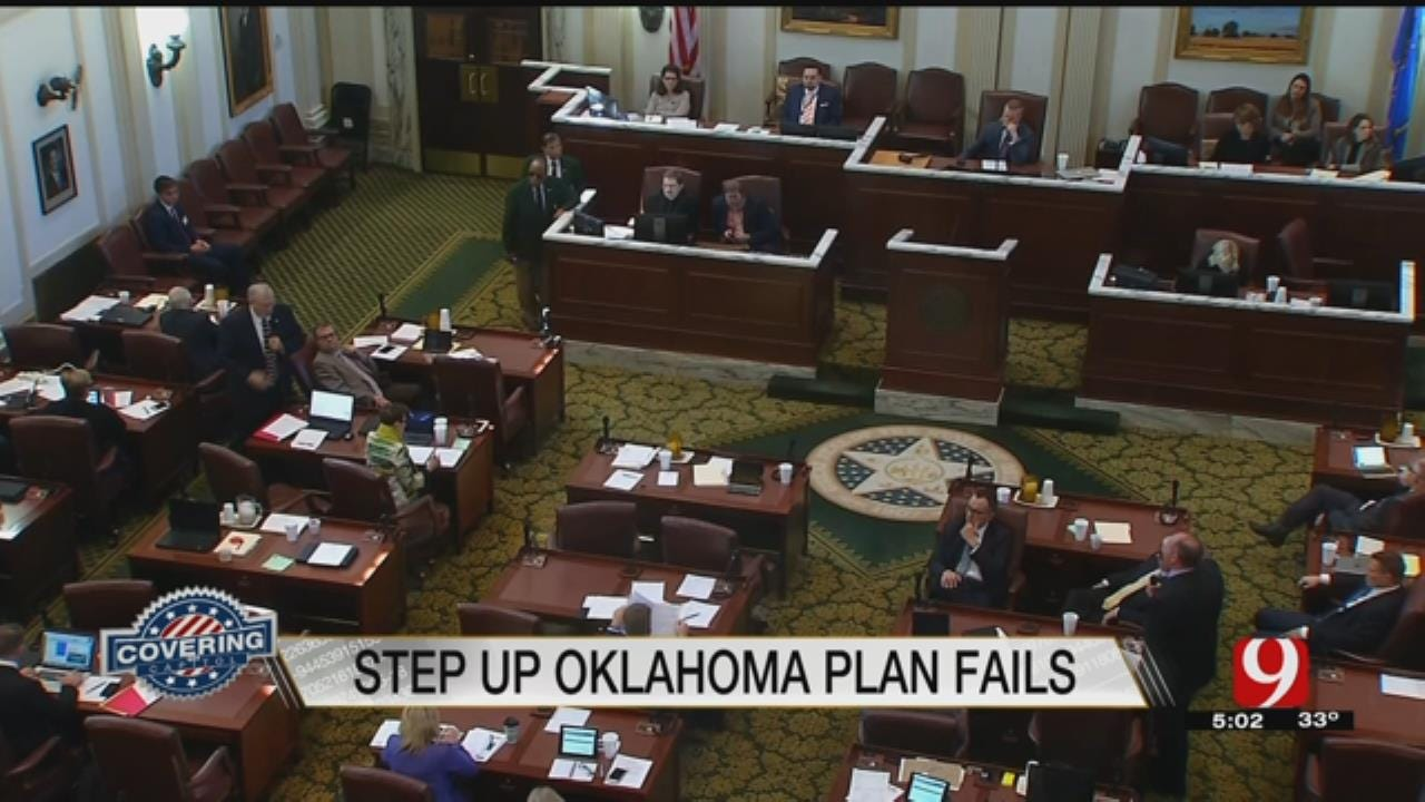 Step Up Oklahoma Bill Fails To Gain Enough Votes