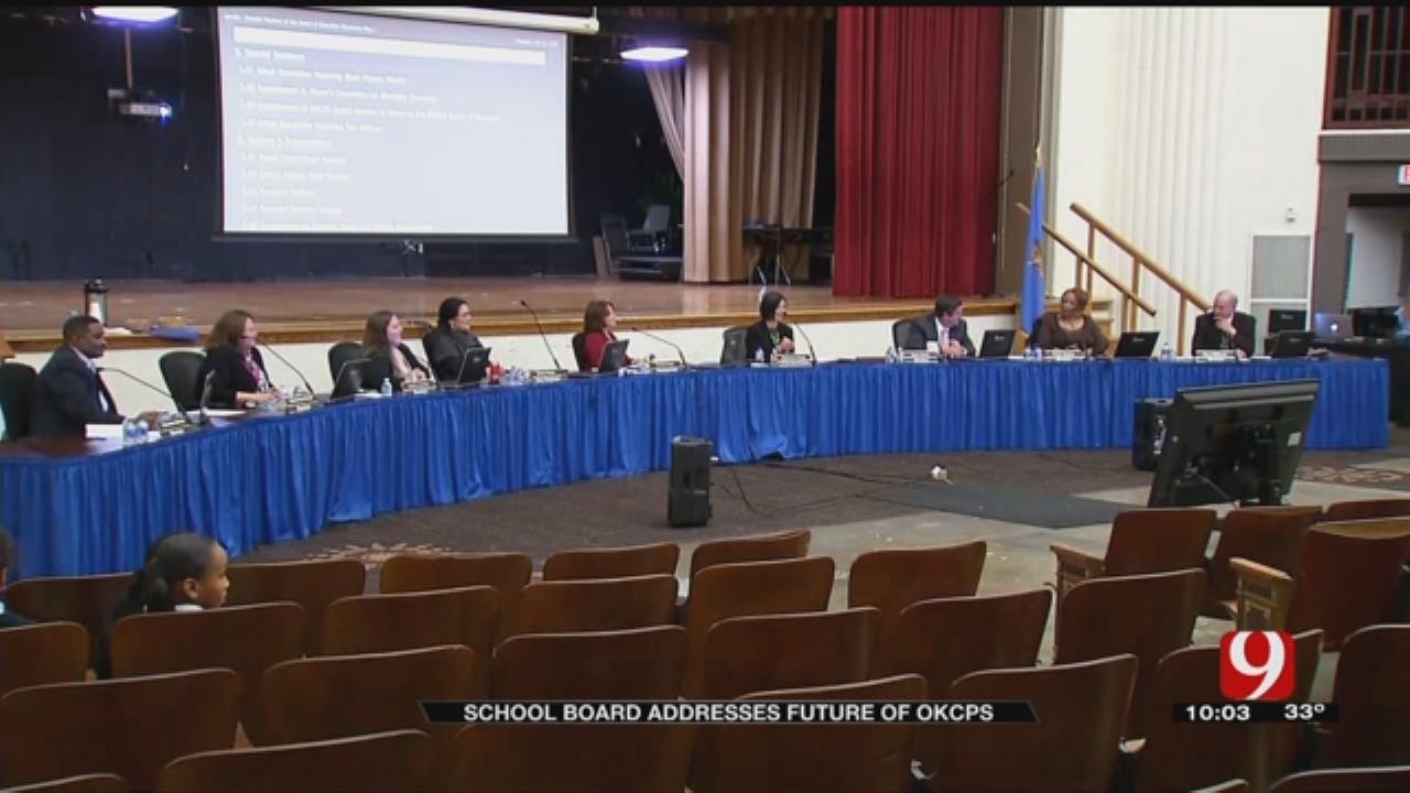 School Board Addresses Future Of OKCPS