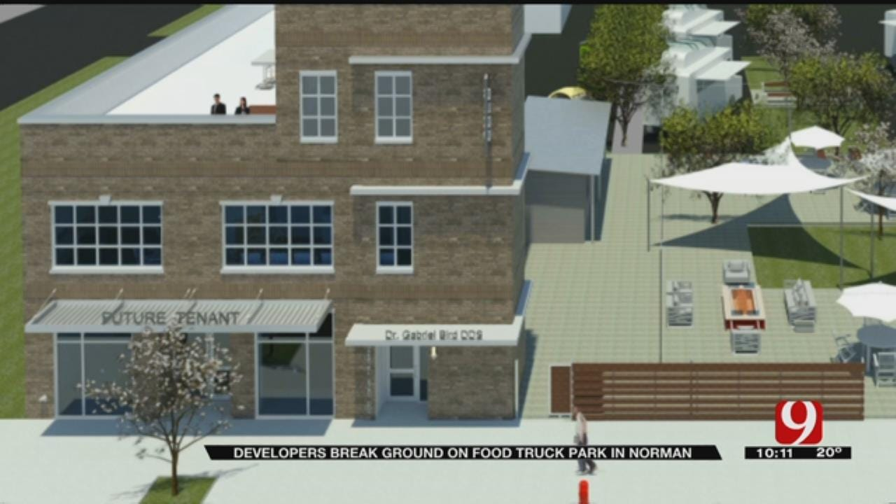 Food Truck Park To Open In Norman