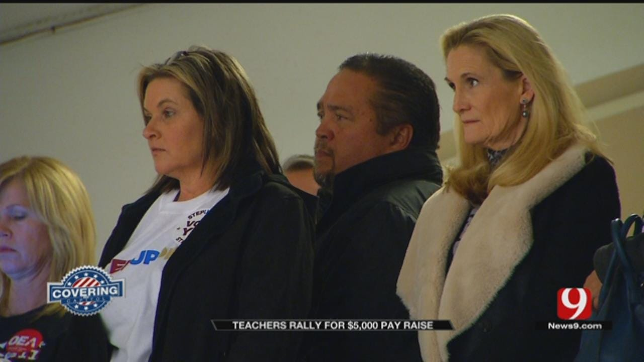 Teachers Voice Support For 'Step Up' Plan At State Capitol