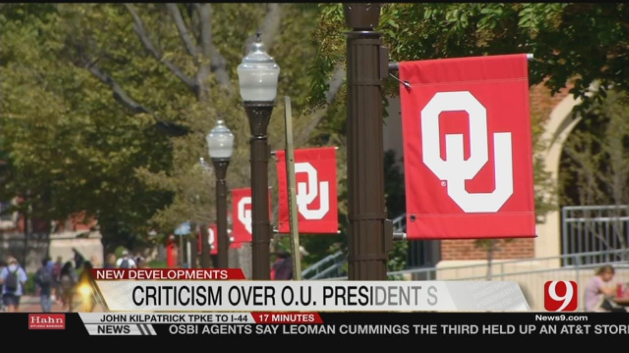 Open Letter Criticizes Process Of Finding New OU President