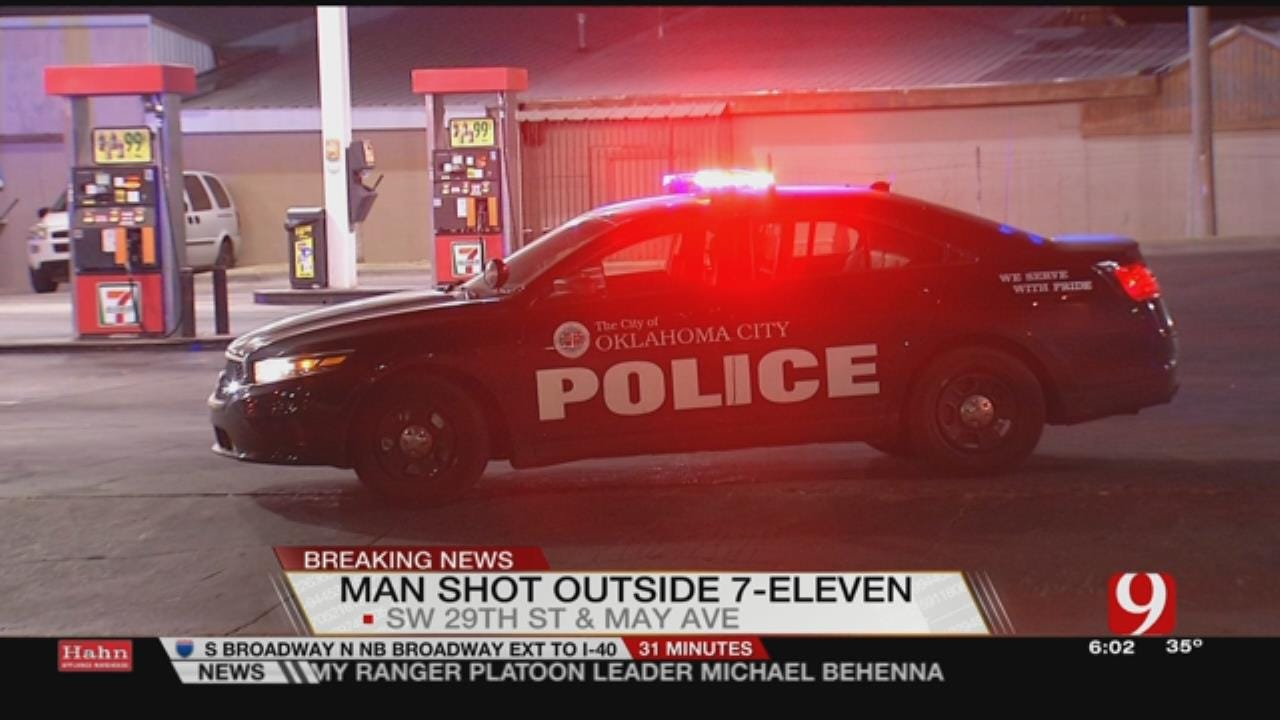 1 Shot Outside S. OKC 7-Eleven