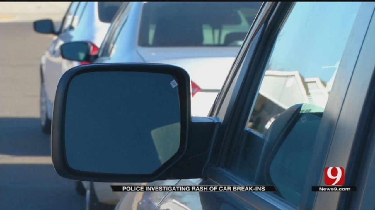Thief Targets Vehicles In South OKC Neighborhood