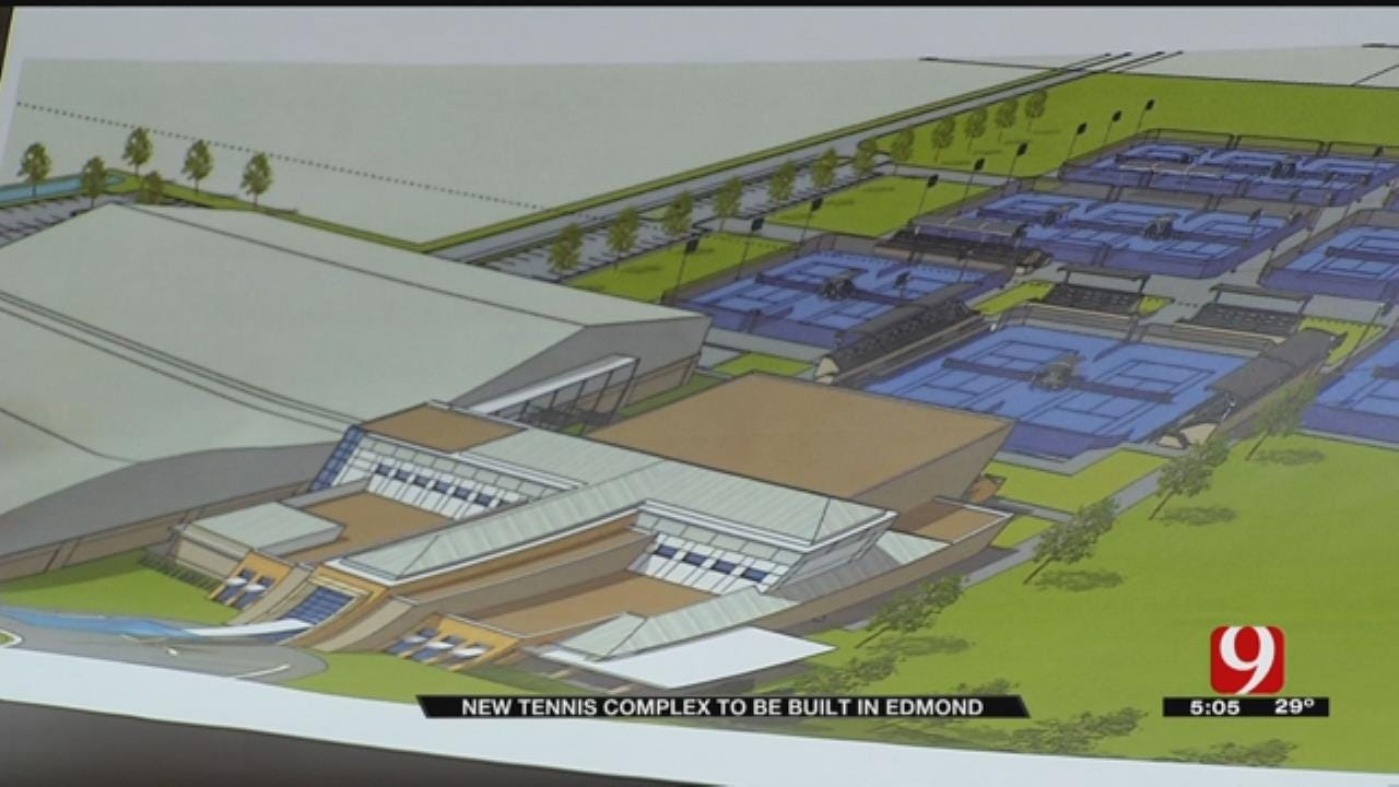 $14M Tennis Complex To Be Built In Edmond