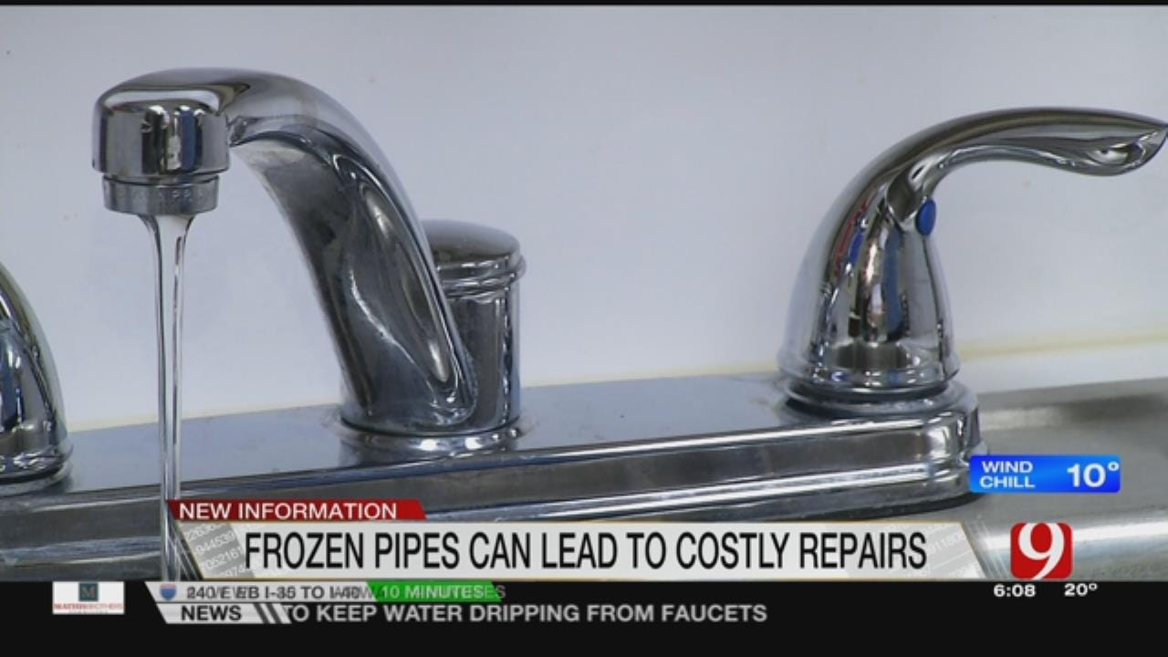 Insurance Companies Warn Against Frozen Pipes During Cold Temps
