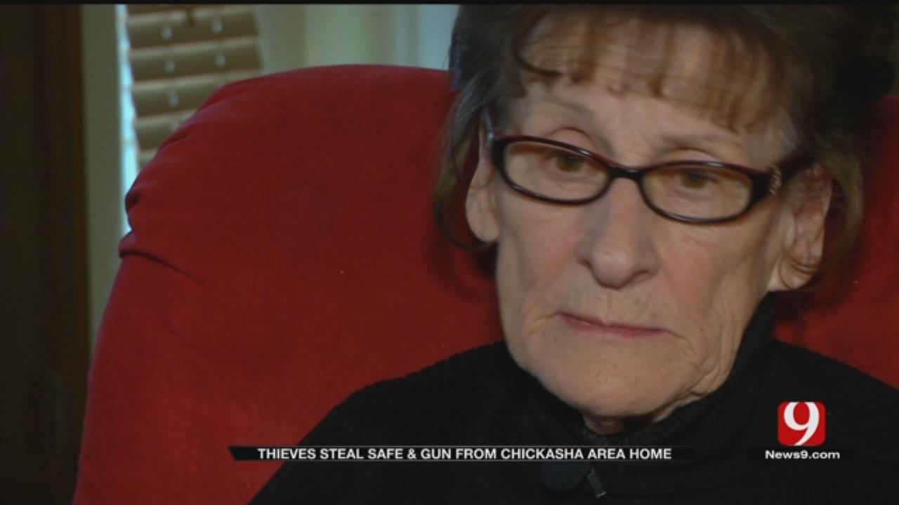 Chickasha Pastor Burglarized