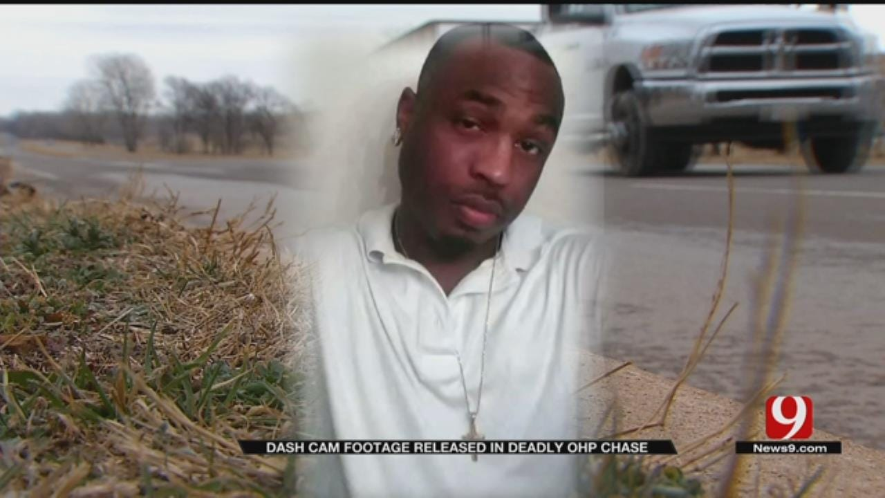 Dashcam Video Released In Fatal High-Speed Chase Through OKC
