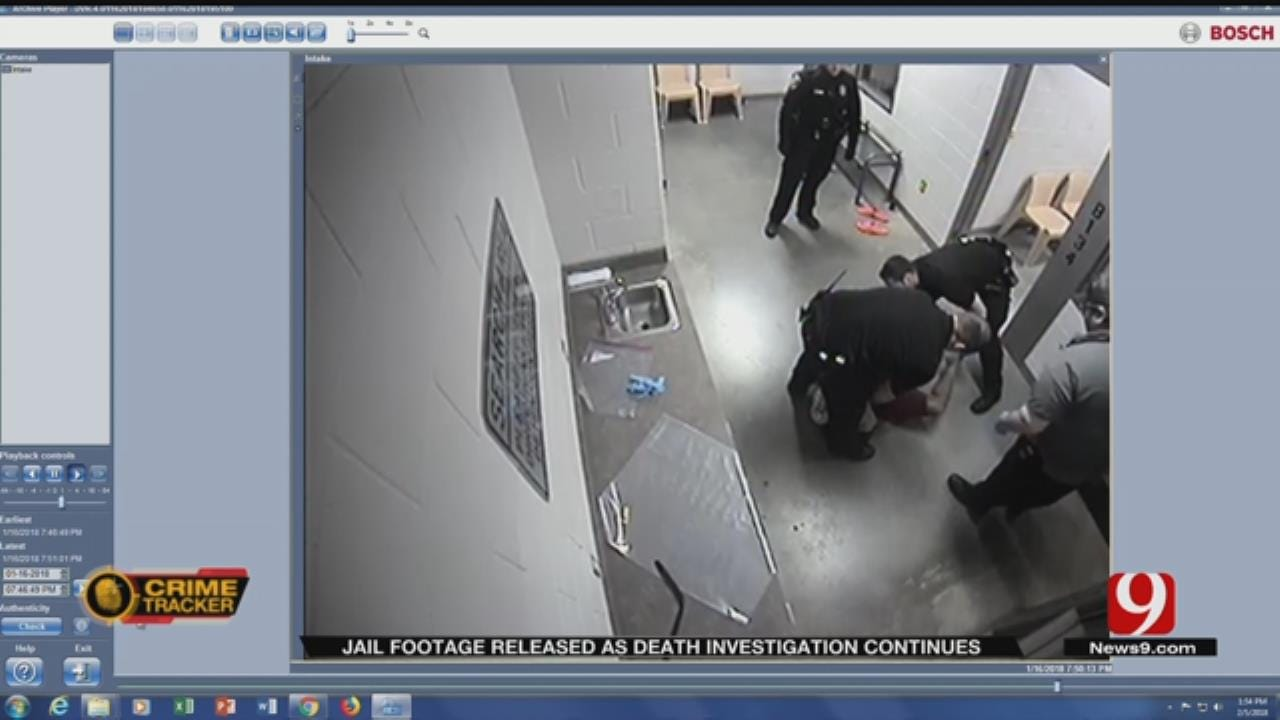 Cleveland County Releases Video Of Inmate Who Died In Custody
