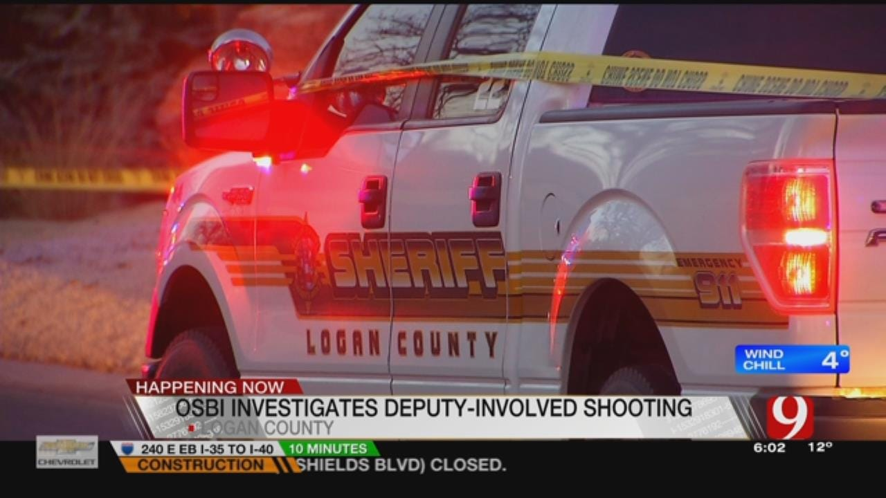 Logan County Man In Hospital After Deputy-Involved Shooting