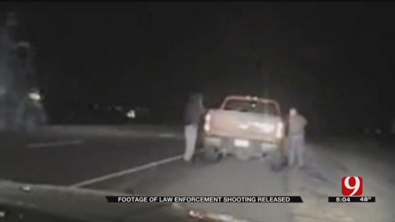 Dashcam Video Released In Trooper Involved Shooting On I-40