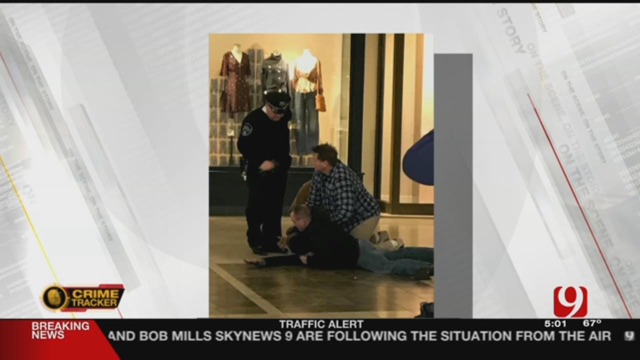OKC Mall Customers Help Stop Apple Store Thief