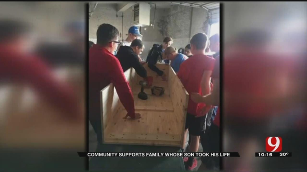 Students Come Together After Suicide Of Student