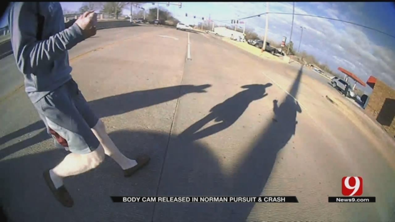 Norman Pursuit And Crash Body Cam