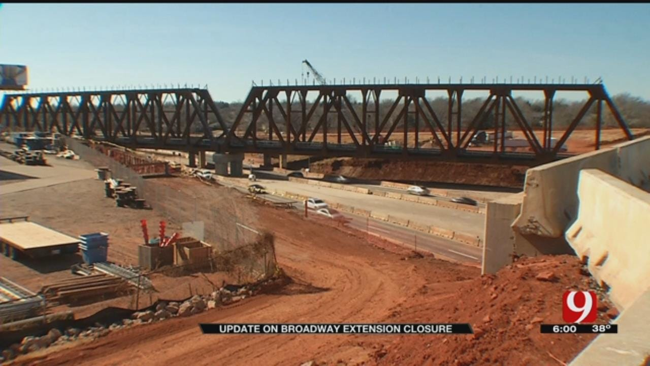 I-235 Reopens More Than 24 Hours Ahead Of Schedule