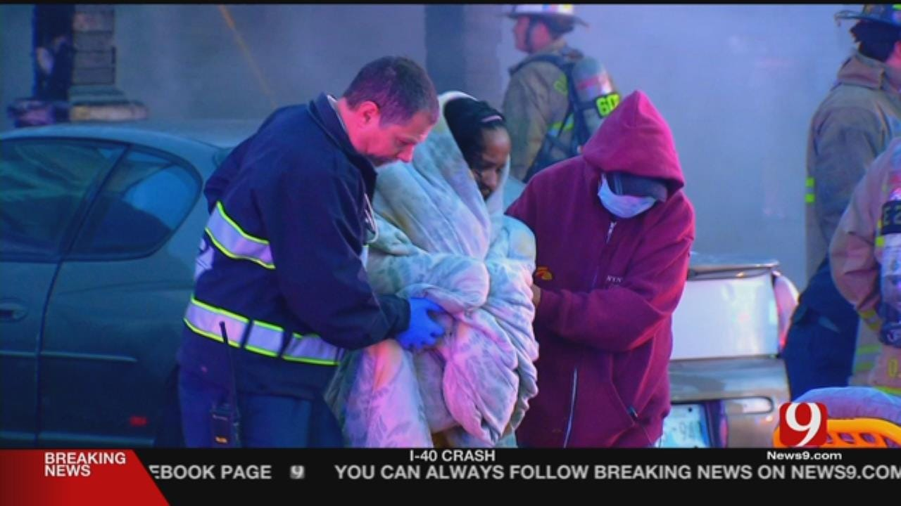 1 Dead, 2 Critical After NW OKC House Fire
