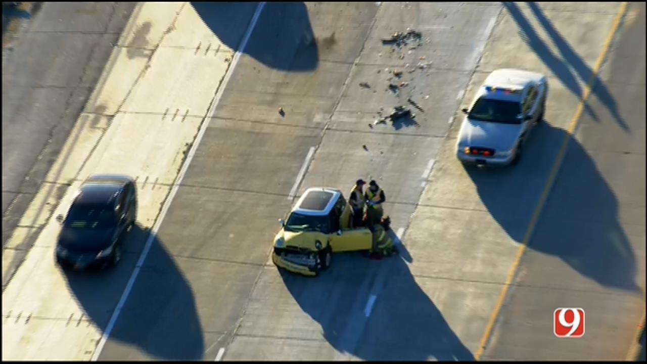 WEB EXTRA: SkyNews 9 Flies Over Injury Crash On I-40