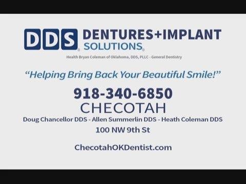 DDS Dentures and Dental: Checotah Preroll 31817 - 01/18