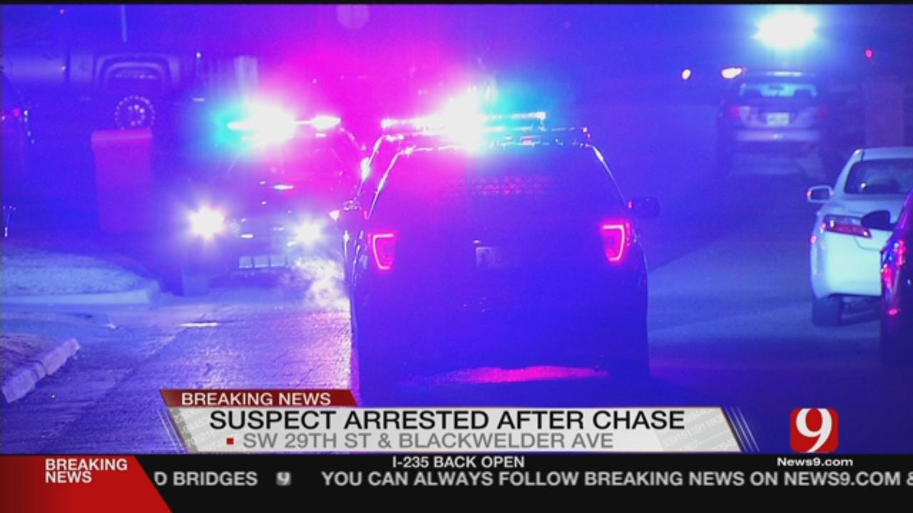 Suspect In Custody After Overnight Search