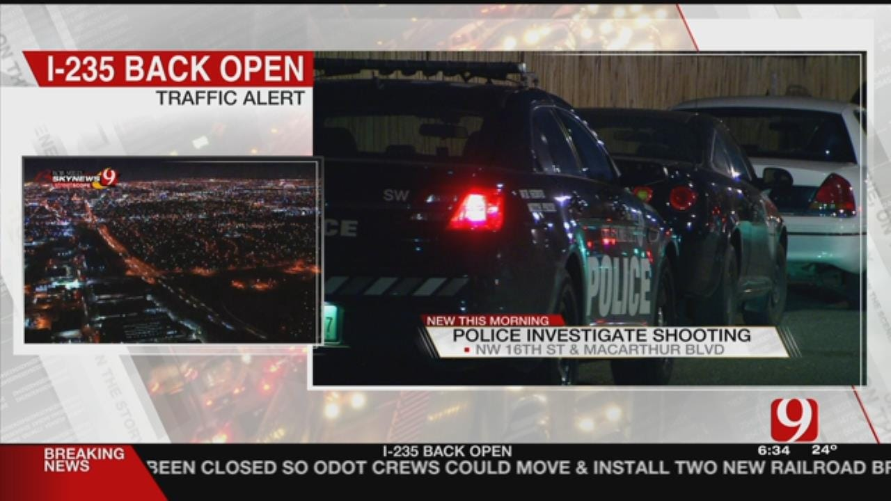 Victim At Hospital After NW OKC Shooting