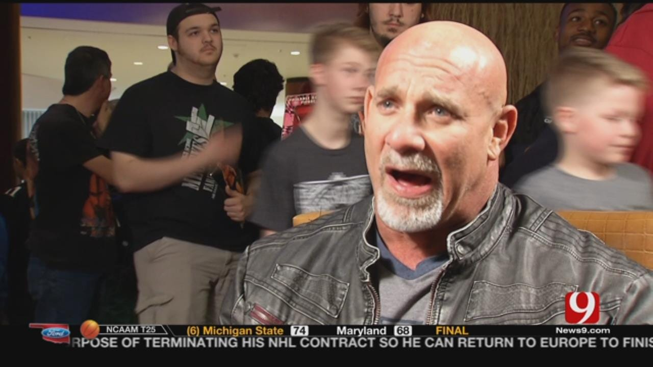 Wrestling Legend Returns To Tulsa