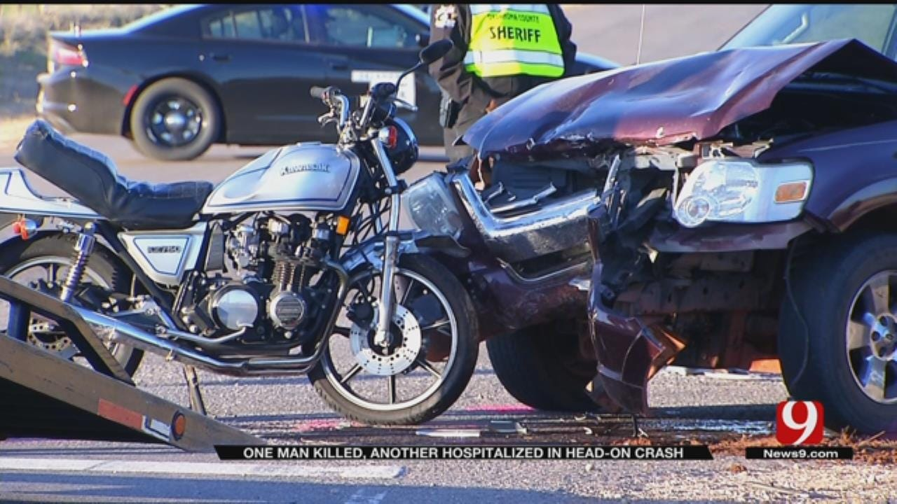 One Dead After Motorcycle Crash In NW OKC