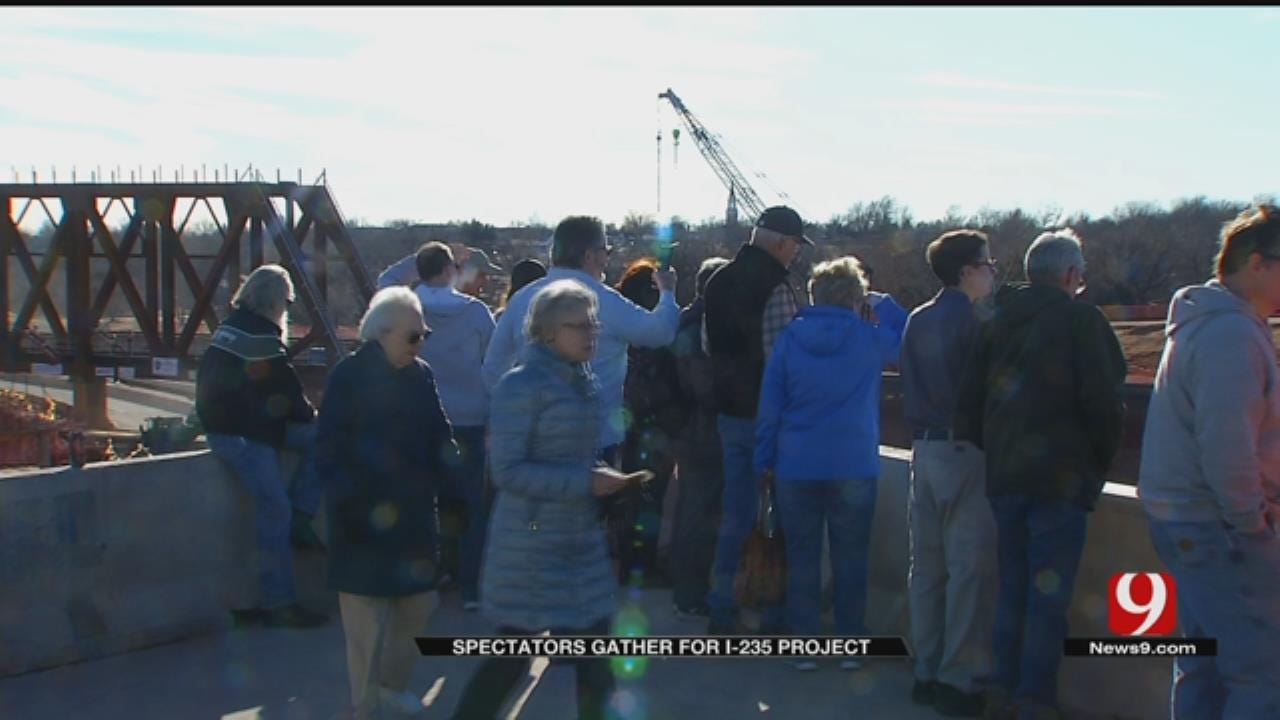 First Portion Of I-235 Bridge Moved Successfully