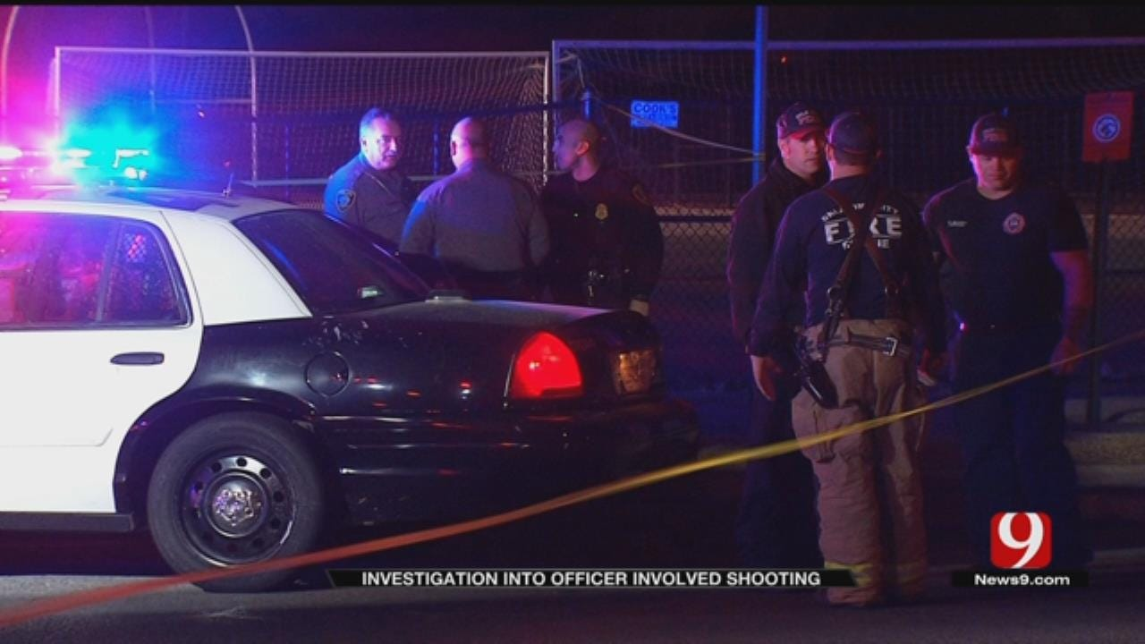 Witness Recounts Distraught Man Firing At OKC Police Officer