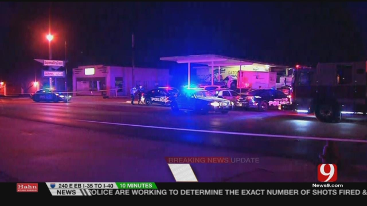 1 Hospitalized After Officer-Involved Shooting In NW OKC
