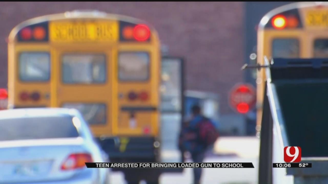 Anadarko Middle Schoolers Arrested For Gun, Drugs
