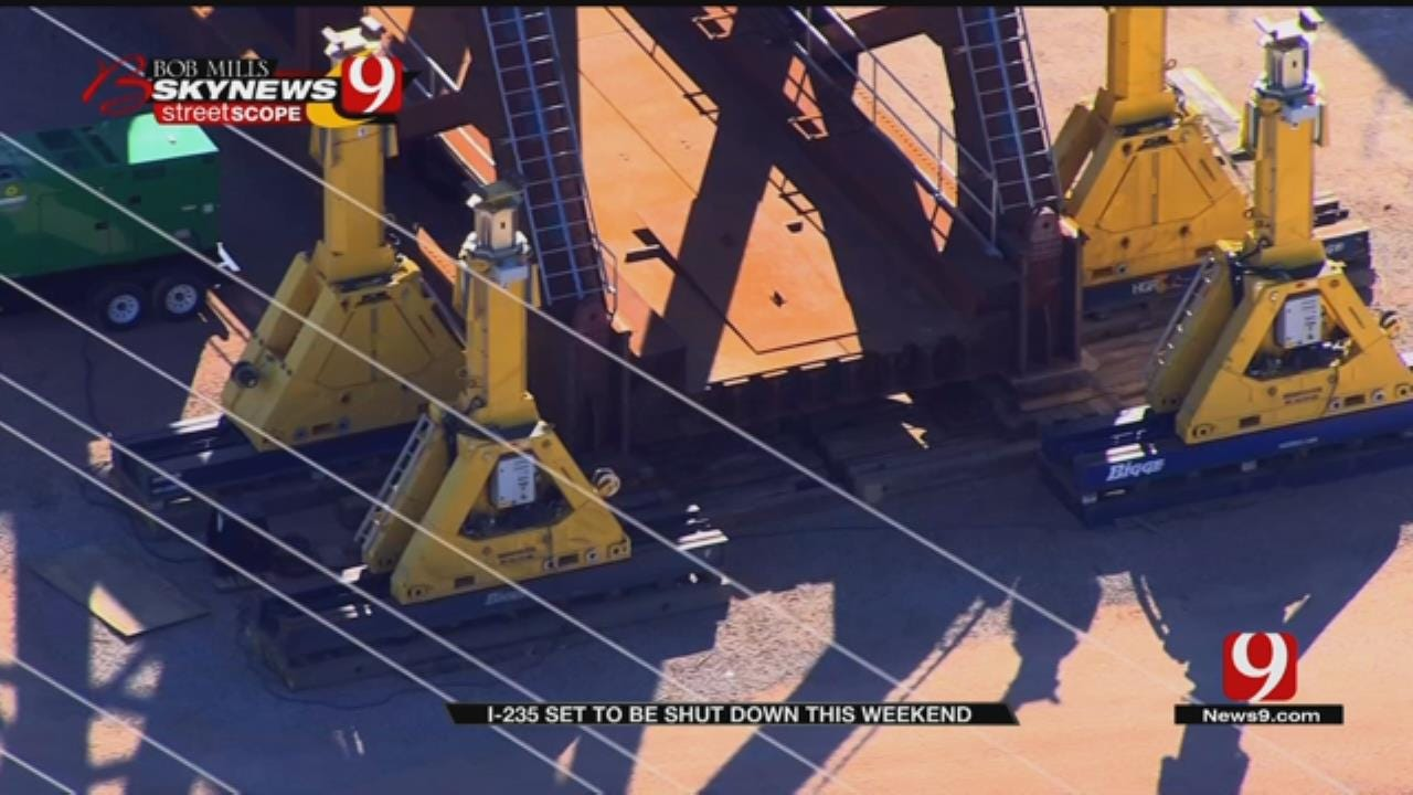 ODOT Prepares To Shut Down I-235 Friday