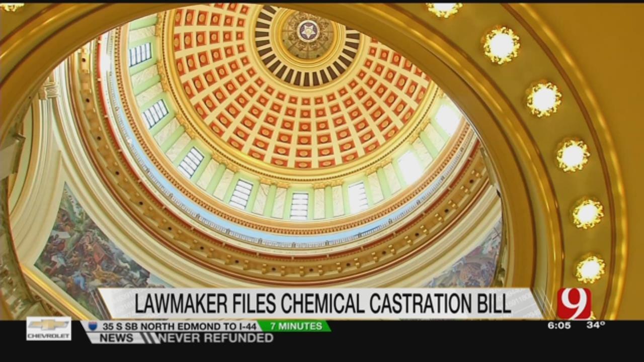 Poteau Lawmaker Files Chemical Castration Bill