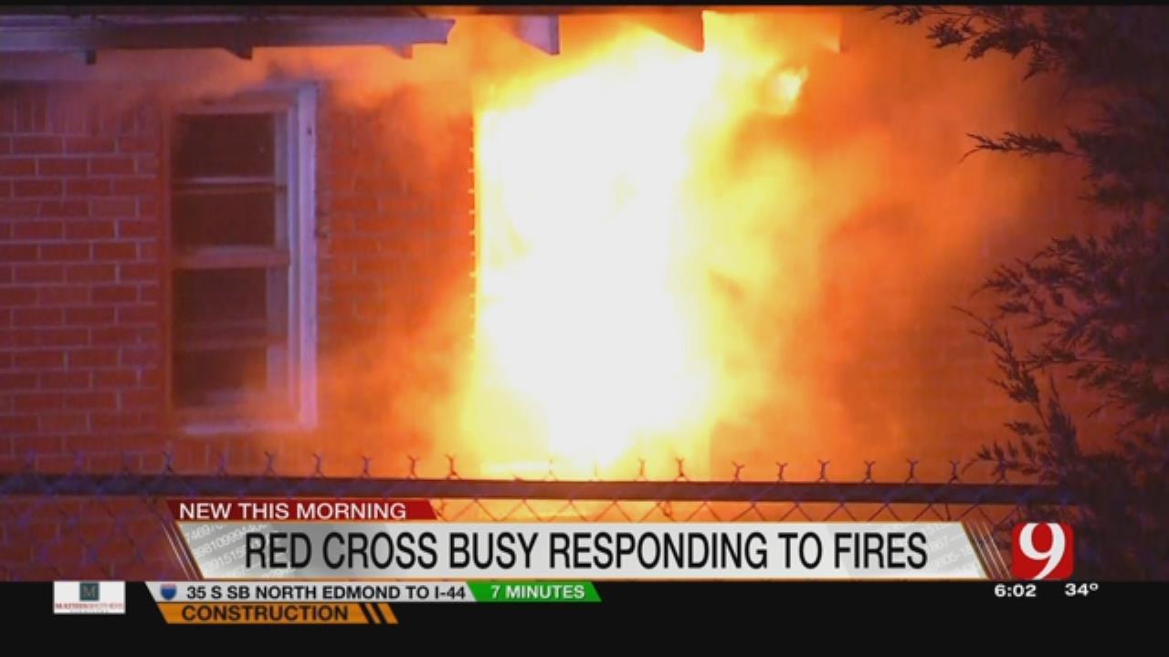 Spike In House Fires Puts Strain On Red Cross Volunteers