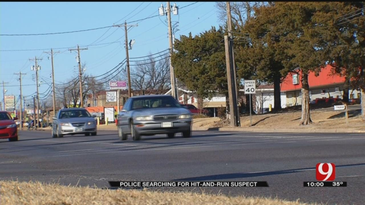 OKC Police Looking To Catch Hit-And-Run Suspect