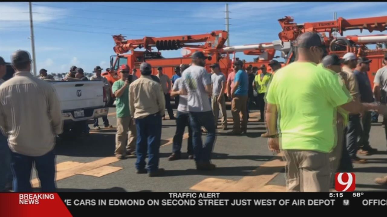 OG&E Crews Helping Restore Power In Puerto Rico