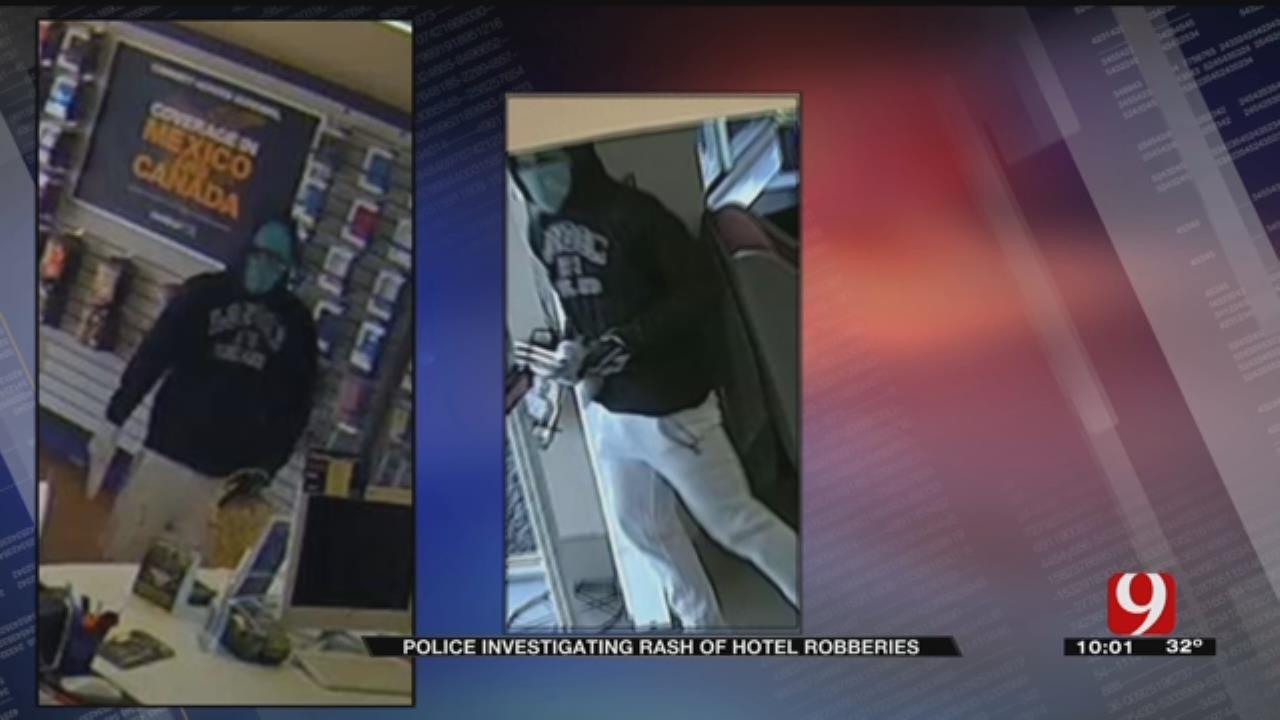OKCPD Investigate Serial Thief