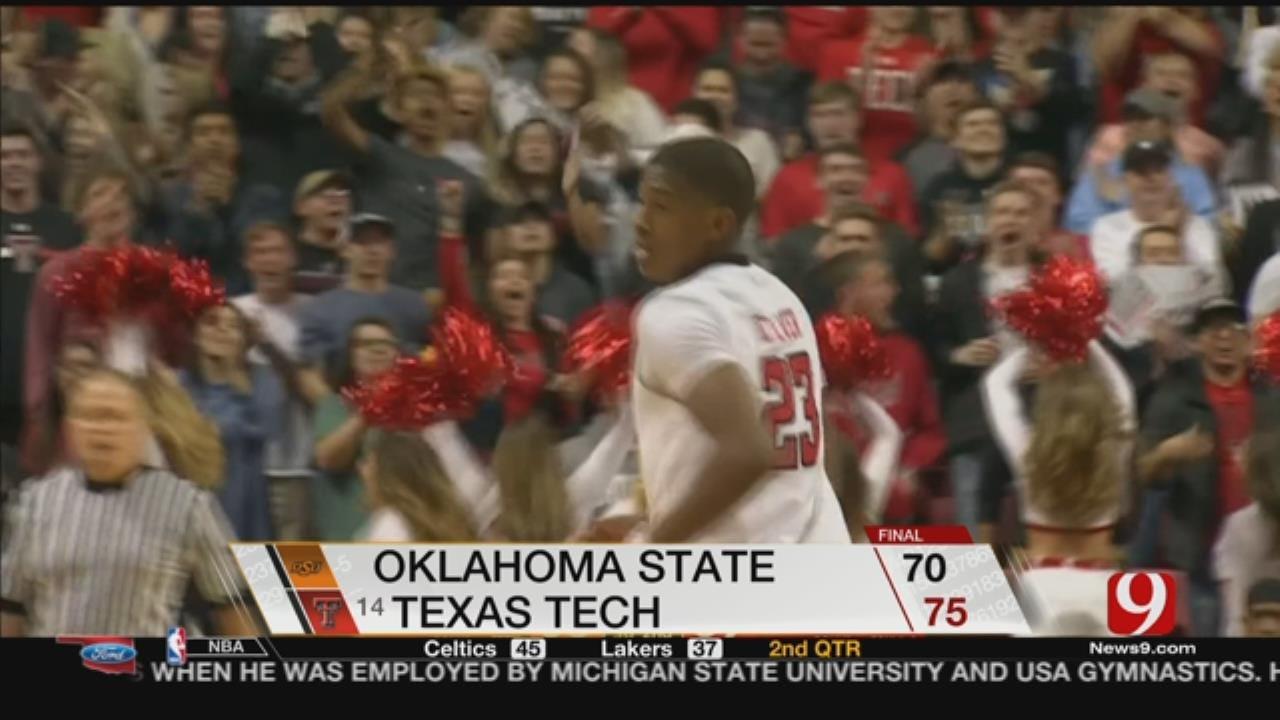 Texas Tech Has Big Rally To Beat Oklahoma State