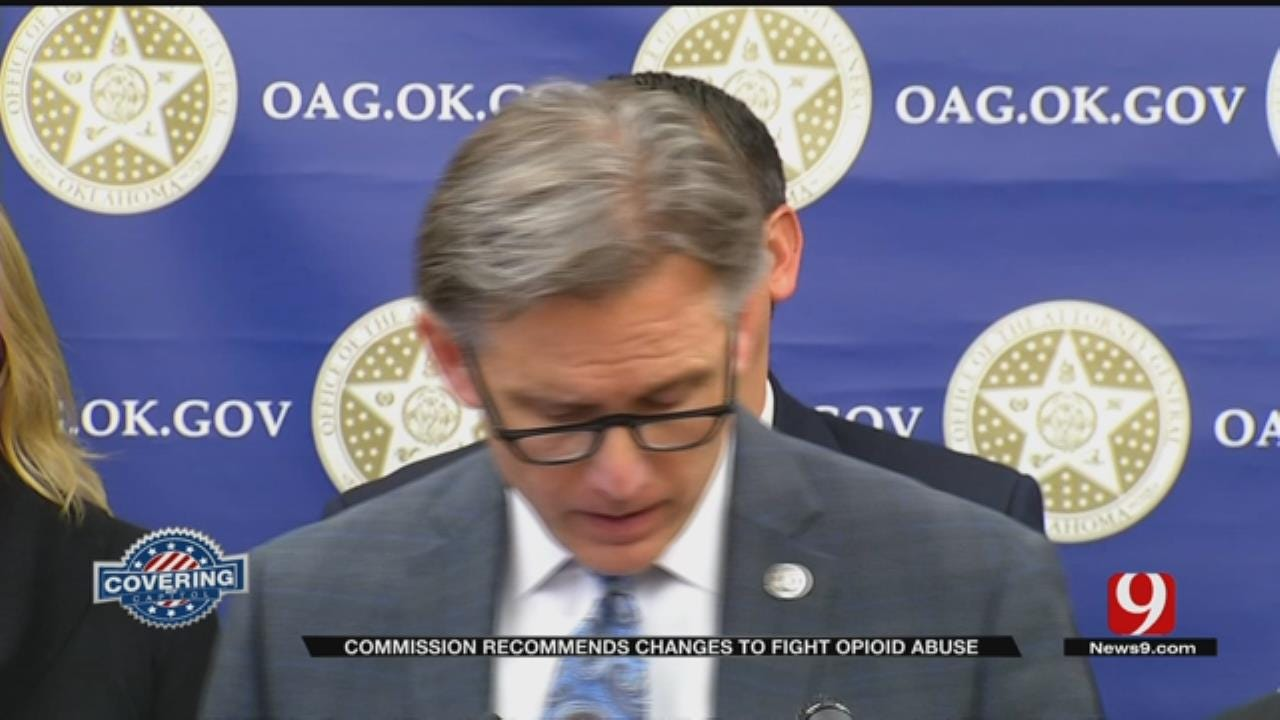Commission Recommends Changes To Fight Opioid Abuse In Oklahoma