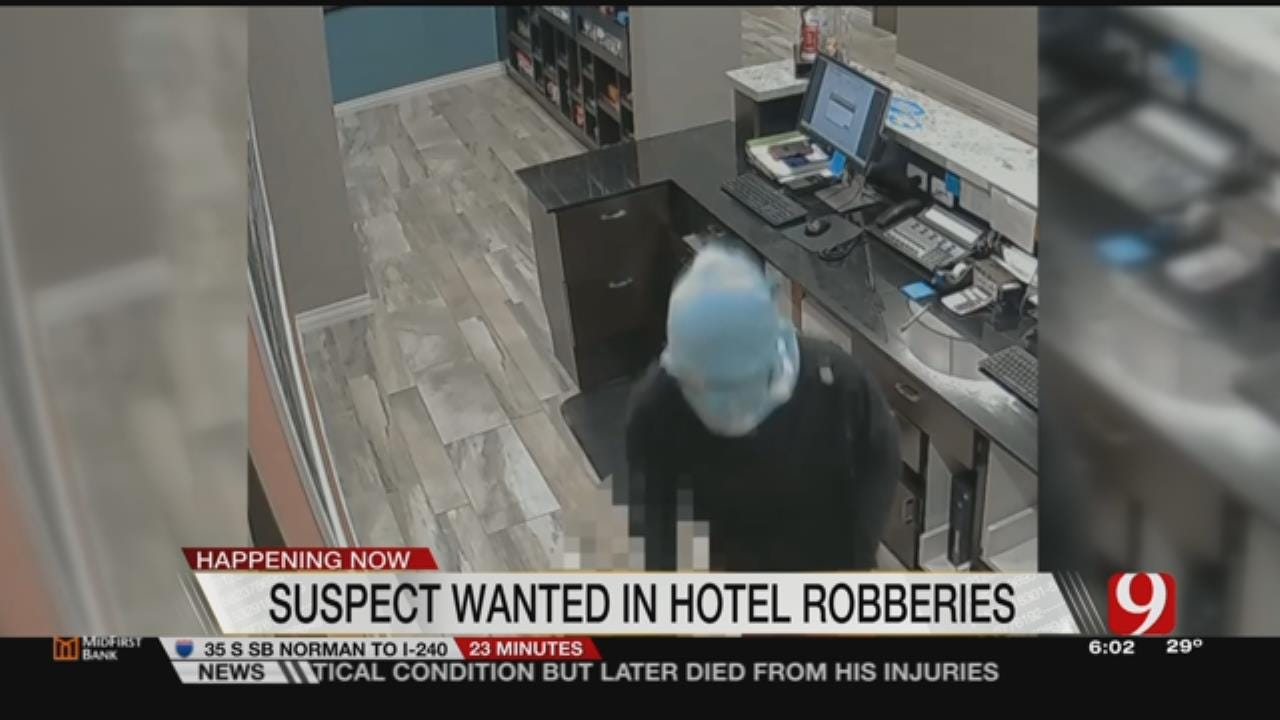 Metro Officers On Look Out For Serial Robber