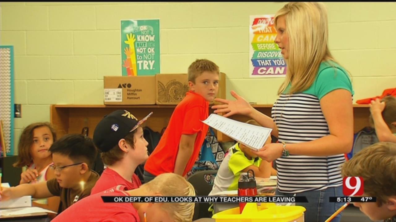 Dept. Of Education Surveys Why Teachers Are Leaving