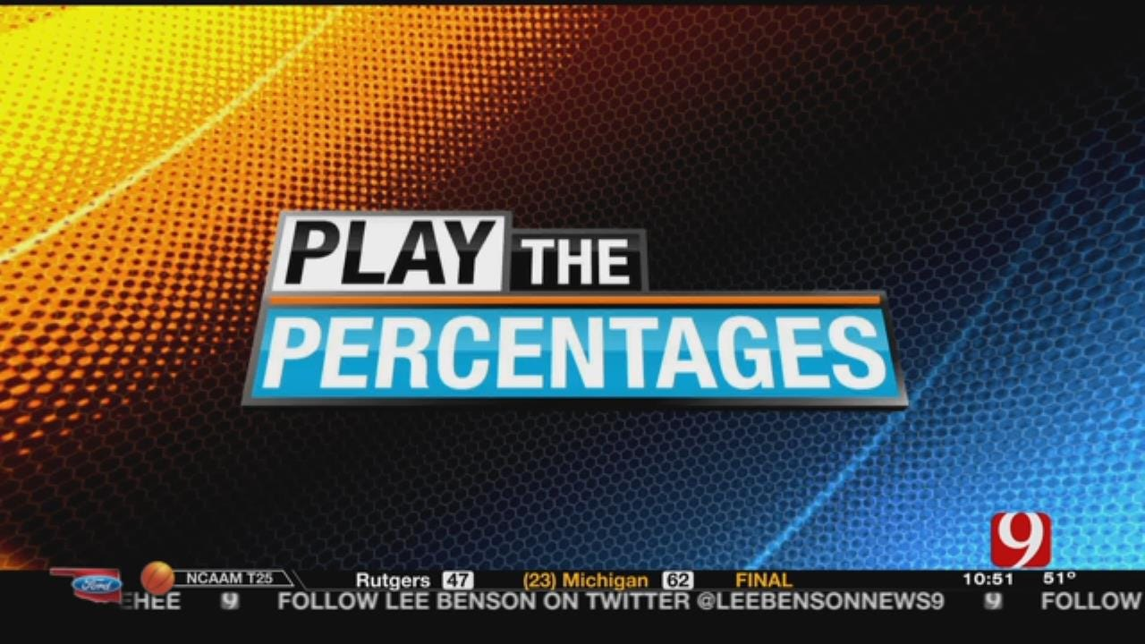 Play The Percentages: NBA All-Star Game, Senior Bowl & More