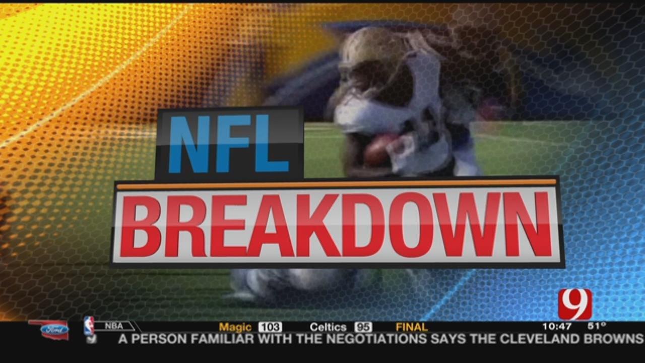 NFL Breakdown: Patriots Escape; Eagles Fly