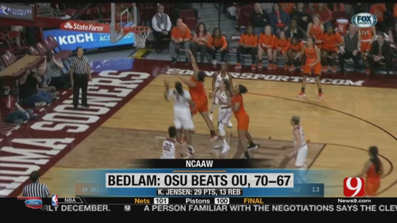 OSU Women Win Bedlam, TU Takes Memphis