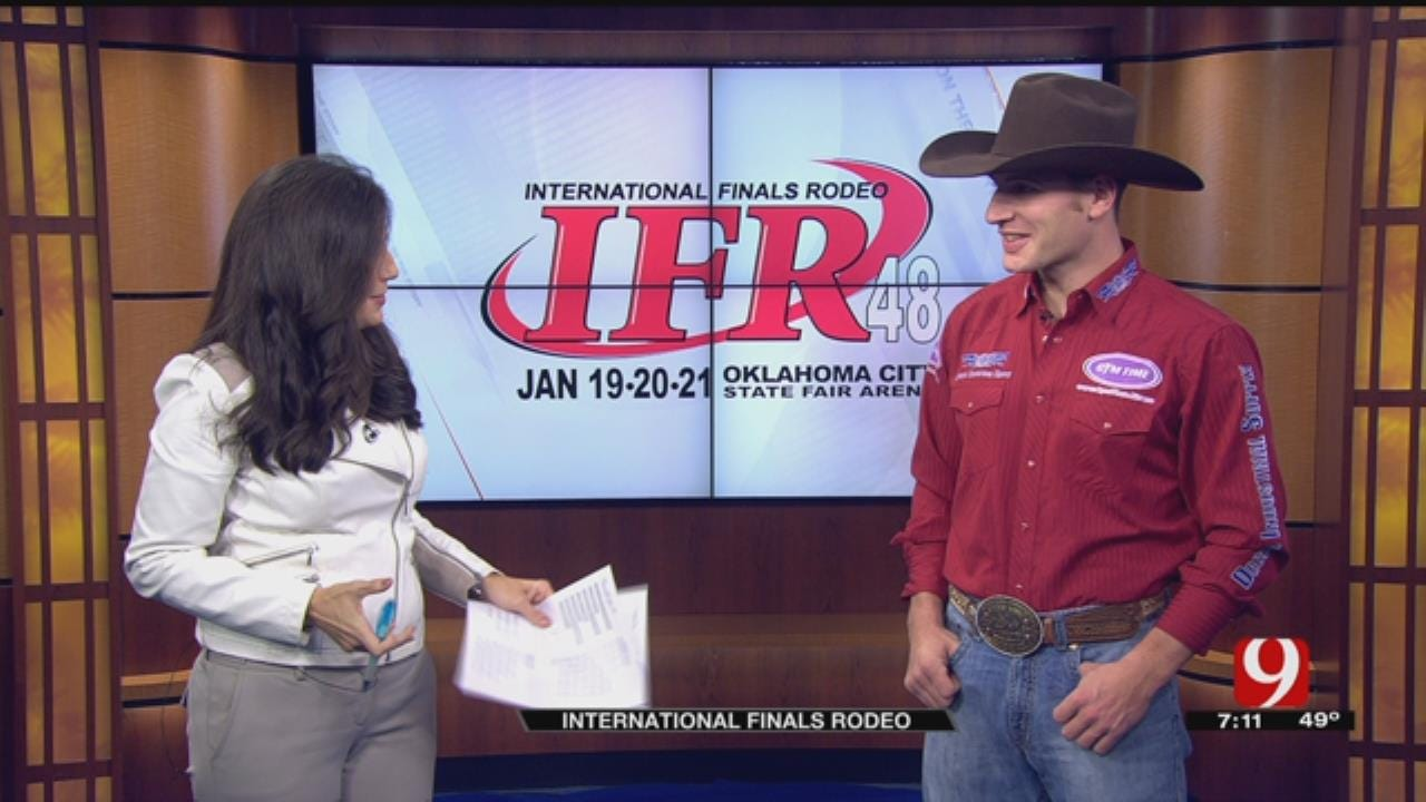 International Finals Rodeo: Cody Brewer
