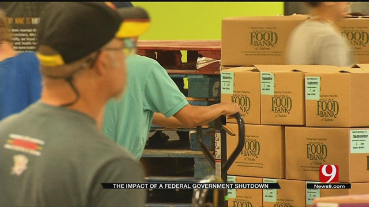 Possible Government Shutdown Could Take Food From Hungry Oklahomans