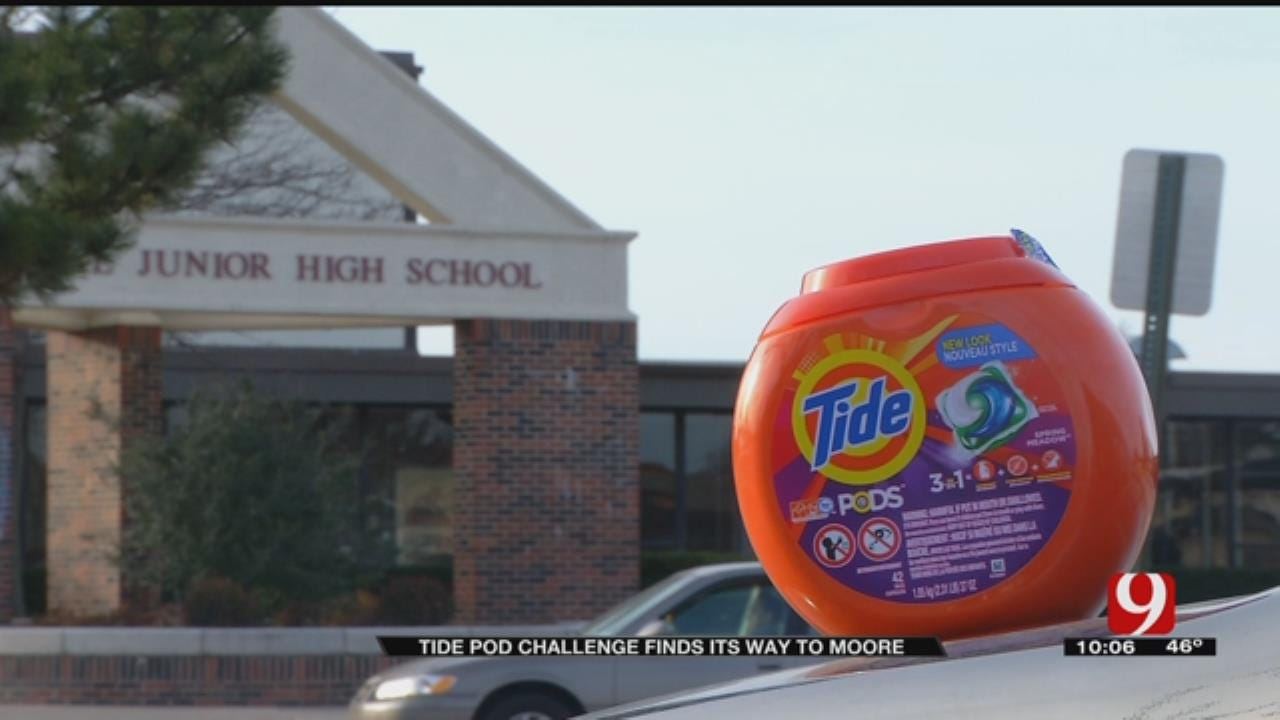 Tide Pod Challenge Attempted at Metro School