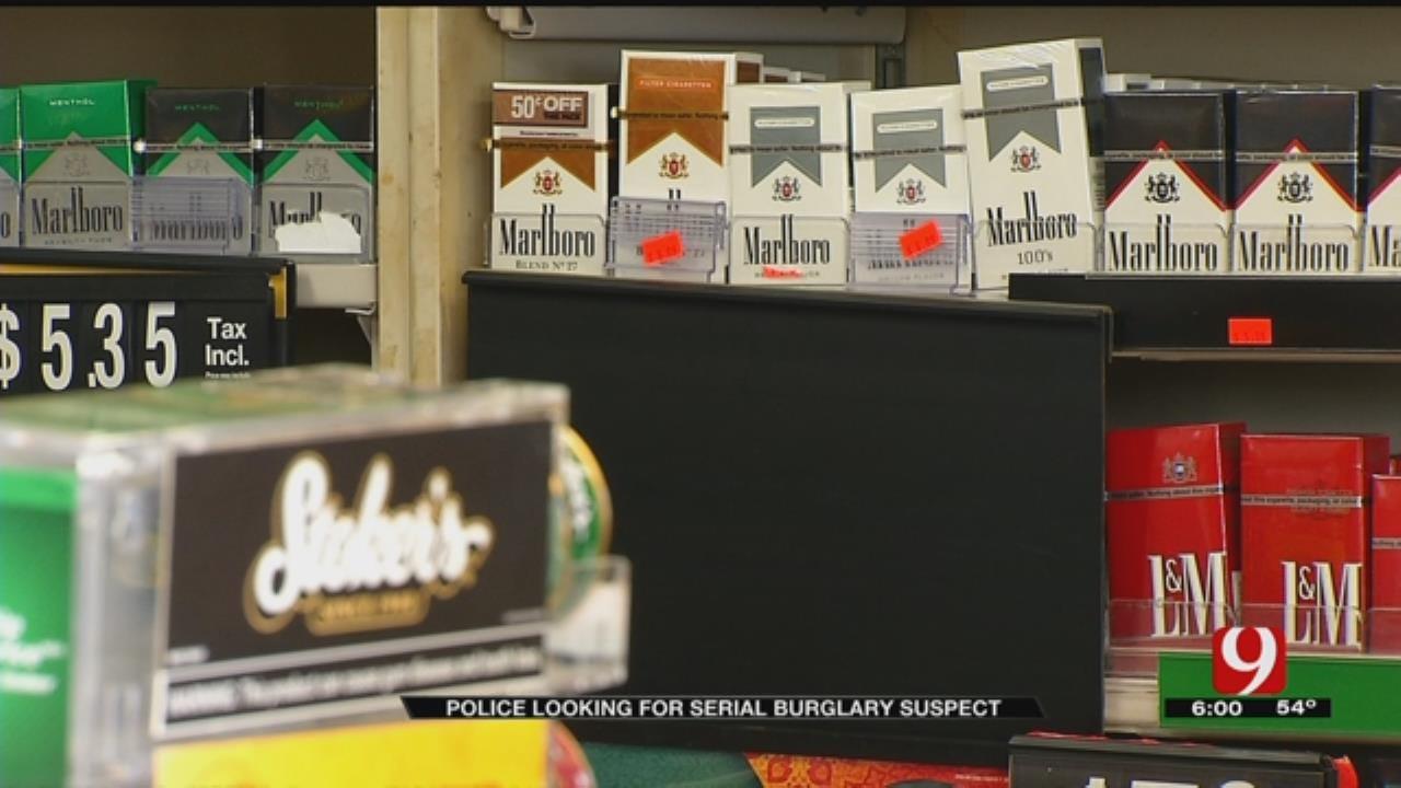 Serial Burglar Targets Oklahoma City Businesses