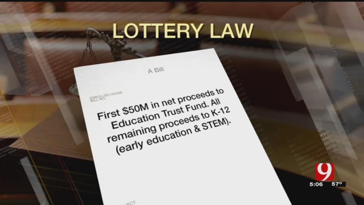 Law Change Allows More Money To Flow From Lottery To Education