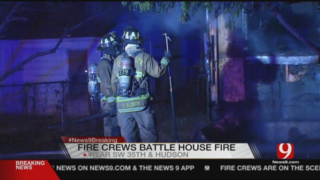 2 Dead In SW OKC House Fire