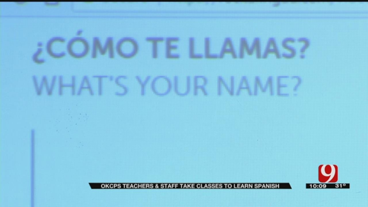 Foundation Offers Free Spanish Classes To OKCPS Employees