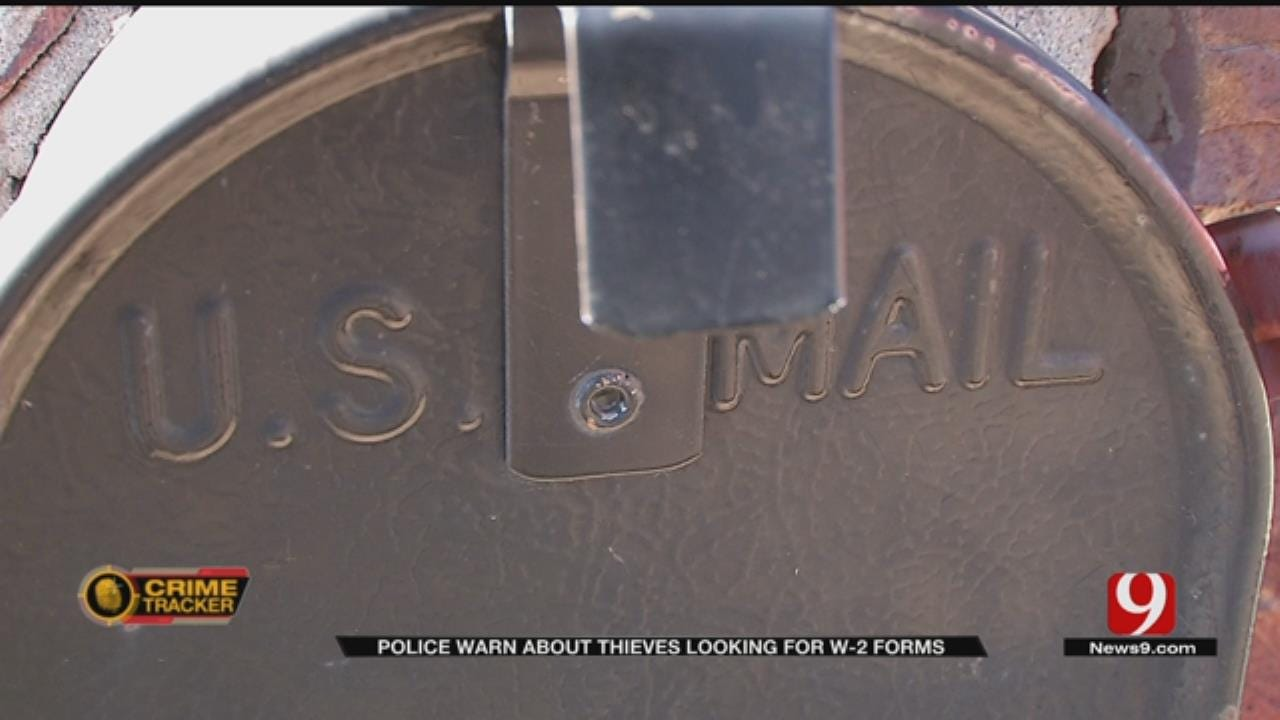 Metro Police Warn Of Thieves Targeting Mailboxes For W-2s